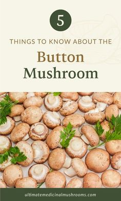 Button mushrooms are low-key but very tasty mushrooms, typically found in different sizes, and can be eaten either raw or cooked. In fact, there are so much more to discover about this variety so try them out soon. To get you started, check out these 5 things to know about button mushrooms and you'll be amazed!   Discover more about medicinal mushrooms at ultimatemedicinalmushrooms.com #cookingmushrooms #growingmushrooms #medicinalmushroom Mushroom Hunting, Mushroom Soup, Mushroom Recipes, Balsamic Mushrooms, White Mushrooms, Growing Mushrooms, Fried Pickles, Zucchini Fries, Eating Raw