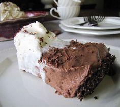 Chocolate Cream Pie with Banana Whip Cream