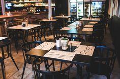 テーブル, 椅子, レストラン, ビンテージ, レトロ, インテリア, デザイン, メニュー, イケア