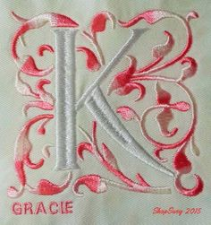Gracie Monogram design set is available for instant download at designsbyjuju.com