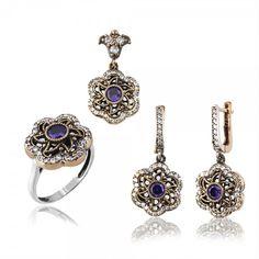 Authentic Women's Silver Sets www.hanedansilver.com #Roxelana #East #Market #Hurrem #Jewellers #Silver #Earring #Jewelers #Ottoman #GrandBazaar #Earring #Silver #Pendant #Silver #Bracelet #Anadolu #Schmuck #Silver #Bead #Bracelet #East #Authentic #Jewelry #Necklace #Jewellery #Silver #Ring #Silver #Necklace #Pendant #Antique #istanbul #Turkiye #Reliable #Outlet #Wholesale #Jewelry #Factory Antique Silver, 925 Silver, Silver Rings, Wholesale Jewelry, Sterling Silver Necklaces, Jewelry Sets, Diamond Earrings, Sapphire, Pendants