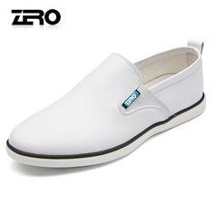 Zero零度休闲鞋 新品春季休闲板鞋男士套脚驾车鞋居家日常皮鞋-tmall.com天猫