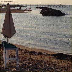 L'ultima nuotata del giorno. La #PicOfTheDay #turismoer di oggi tira tardi sulla spiaggia di #Rimini  Complimenti e grazie a @abafio / The last swim of day. Today's #PicOfTheDay #turismoer waits the evening on #Rimini #beach  Congrats and thanks to @abafio