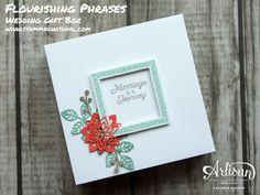 Stampin' Up! - Flourishing Phrases - Wedding Gift Box - Artisan Design Team Blog…