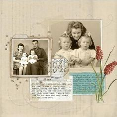 heritage scrapbook | Family History & Journaling by pearlie