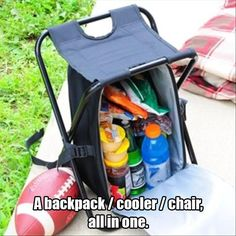Shakespeare Deluxe Rucksack Chair Brown//Green