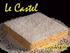 """Le CASTEL, gâteau traditionnel originaire d'Hannaba, en Algérie, (dont le nom serait issu de """"noisettes"""" en algérien), et le RUSSE, gâteau originaire du Béarn (créé par un pâtissier français, Adrien Artigarrède au début du XXème siècle) présentent de..."""