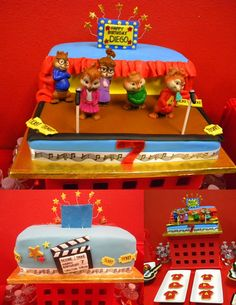 Alvin and the Chipmunks Party Cake