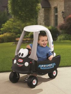 [Toy Storage Ideas] Little Tikes Cozy Coupe Tikes Patrol, Ride-On -- Want additional info? Click on the image. (This is an affiliate link) #ToyStorageIdeas
