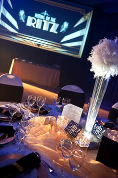 Putting On The Ritz Corporate Eventing | Worx Group Event Management | Table Decor  #eventmanagement #opportunityeverywhere