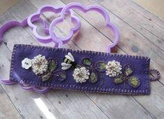 lavendar cuff