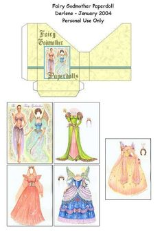 Fairy Godmother Paperdoll