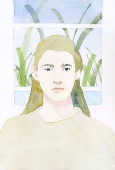 Fashion Portraits - marcel george illustration