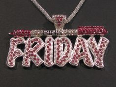 Iced Out Bling Nicki Minaj inspired Pink Friday by HandyMandyStore, $16.95
