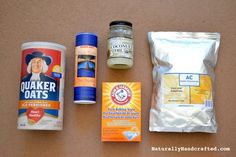 Ingredients for Easy Homemade Bath Bombs