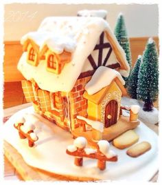 クッキーでお菓子の家(ヘクセンハウス)