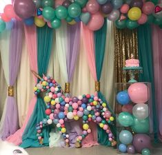 """8,790 Likes, 506 Comments - Mommy With Scissors  (@mommywithscissor) on Instagram: """"Our balloon unicorn #unicornparty #unicorn #unicornballoon #2ndbirthday #unicornlife #balloons…"""""""
