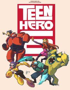 This Teen Titans Fan Art is All Totally Titan-Tastic   moviepilot.com