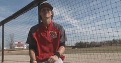 A baseball player with Cystic Fibrosis is an inspiration to his team.