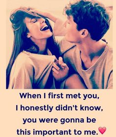 u r the most important person in this world bae Cute Love Quotes, Love Husband Quotes, Cute Couple Quotes, Love Quotes For Her, Romantic Love Quotes, Romantic Couples, Real Friendship Quotes, Bff Quotes, Girly Quotes