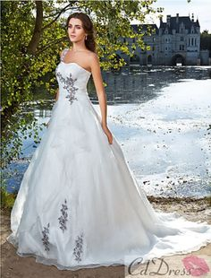 wedding dress wedding dress with color wedding dresses