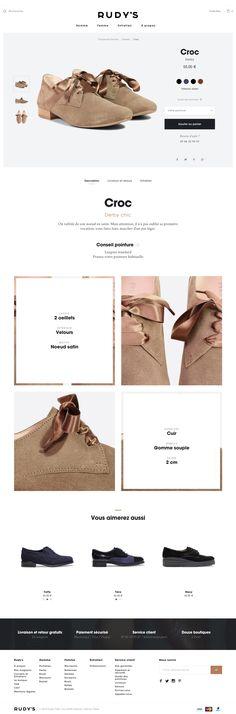 신발 클로즈업 크롭 샷