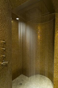 Whoever invinted the Rainshower should get the Nobel Peace Prize. Allegria Spa in Beaver Creek, CO really did this right!