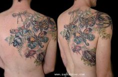 Muriel Zao - Beetles and Insects Tattoo