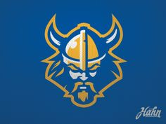 A generic Vikings concept I created recently. This logo along with a custom made…