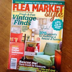FLEA MARKET STYLE MAGAZINE ! ---- Download the App FLEATIQUE , on the App Store ! ---- Vintage find finds flea market fleamarket retro junk gypsy gypsies american pickers antiques antique style decor home interior design hgtv shabby chic kitschy kitsch shopping market store mall midcenturymodern mid century modern furniture lamp table chair desk couch room house kitchen soda tv radio