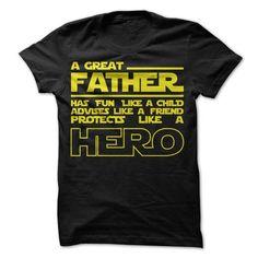 HERO DAD T Shirts, Hoodies. Get it here ==► https://www.sunfrog.com/Geek-Tech/HERO-DAD.html?41382