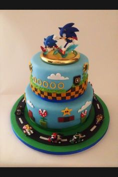 Video Game Cake My Cakes Pinterest Video Game Cakes Video - Video game birthday cake