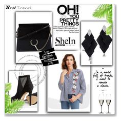 """""""Untitled #3"""" by melieliasi ❤ liked on Polyvore featuring Chloé, Roberto Demeglio, ALDO and Riedel"""