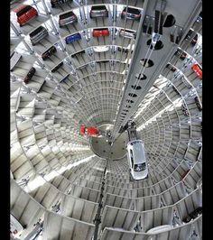 L'ascenseur s'occupe des voitures