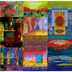 show your colors #collage #quilt #color