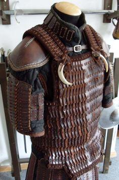 Lamellar Armor, Sca Armor, Viking Armor, Samurai Armor, Medieval Armor, Fantasy Armor, Fantasy Weapons, Leather Armor, Leather Tooling