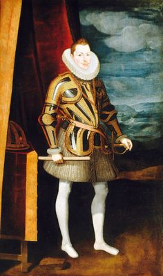 PHILIP III WAS THE SON OF PHILIP II OF SPAIN AND ANNA OF AUSTRIA AND BECAME KING OF SPAIN AFTER HIS FATHER.