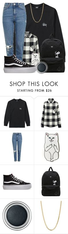 """""""From mistakes I made in my past"""" by fxneral ❤ liked on Polyvore featuring Stussy, Uniqlo, Topshop, RIPNDIP, Vans, Christian Dior and Bianca Pratt"""