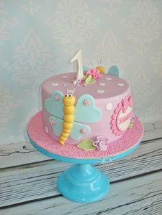 Znalezione obrazy dla zapytania tort na roczek dla dziewczynki