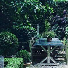 Image result for nigel slater zinc table garden