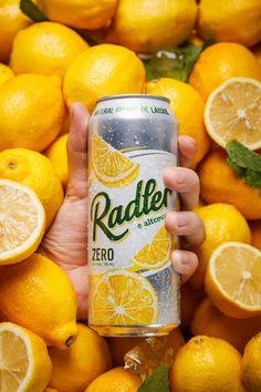 Beer Drink Packaging Redesign Efes Radler - World Brand Design Beer Packaging, Beverage Packaging, Design Packaging, Label Design, Cocktail Photography, Food Photography, Product Photography, Radler Beer, Beer Shot