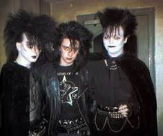 Billedresultat for punk makeup 80s