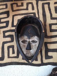 A personal favorite from my Etsy shop https://www.etsy.com/listing/231102607/african-mask