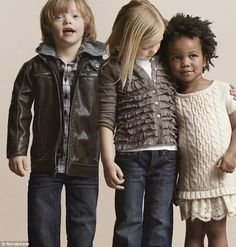 a six-year-old who has Down's Syndrome, starred in a Nordstrom ad