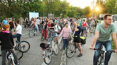Critical Mass Bratislava by vera kisel, via Flickr Bratislava, Cycling, How To Make, Biking, Bicycling, Ride A Bike
