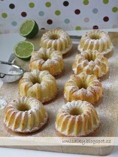 U mlsalky: Limetkovo - kokosové bábovičky