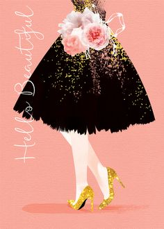 female birthday daughter sister niece friend girlfriend partner wife anniversary black dress and gold glitter shoes. Happy Birthday Text, Birthday Posts, Happy Birthday Messages, Happy Birthday Images, Happy Birthday Greetings, Birthday Wishes, Happy Birthday Beautiful Lady, Flower Festival, Happy B Day