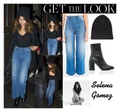 """""""Selena Gomez Leaving A Chinese Restaurant In Sydney, Australia  August 8, 2016"""" by valenlss ❤ liked on Polyvore featuring Wrangler, Dear Frances and CO"""