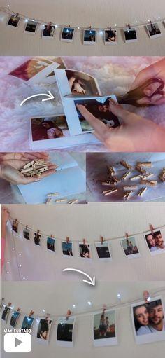 lovely dorm room ideas to tare room décor to the next level 6 Cute Room Decor, Room Decor Bedroom, Dorm Room, Decoration Tumblr, Diy Tumblr, Photo Mural, Diy Presents, Aesthetic Room Decor, Dream Rooms