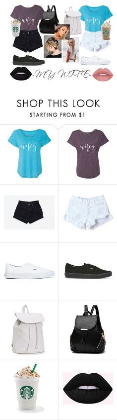 """""""My wife and I"""" by sarah-pollock-1 on Polyvore featuring WithChic, Vans and Aéropostale"""